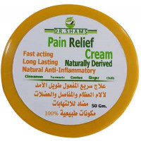 Natural Pain-Relieving Cream by Dr. Shams